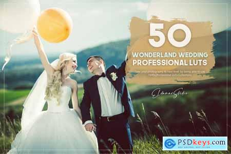 50 Wonderland Wedding LUTs Pack 5754967