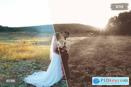50 Vintage Wedding LUTs Pack 5754956