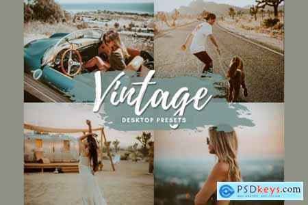 VINTAGE Desktop Lightroom Presets 5712583