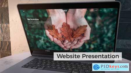 Website Presentation - Laptop Mockup 24523770