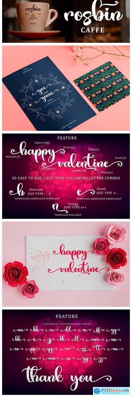 Valentine Bright Font