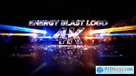 Energy Blast Logo Reveal 20399722