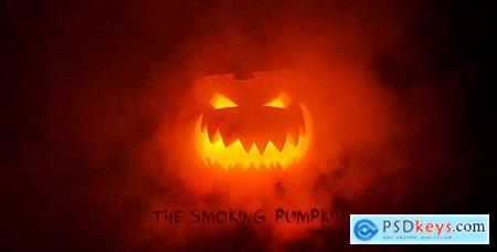 Halloween - The Smoking Pumpkin 18083544