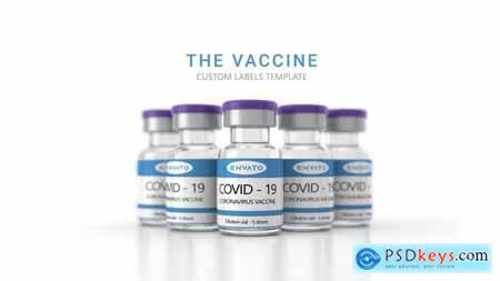 The Vaccine - Covid 19, Corona Virus Mockup or Presentation 30062966