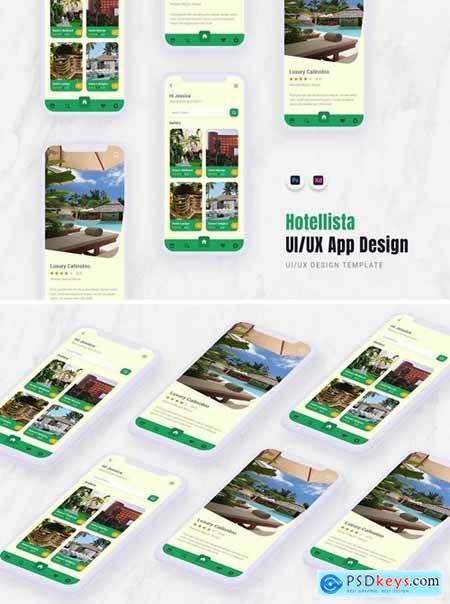 Hotellista App Mobile