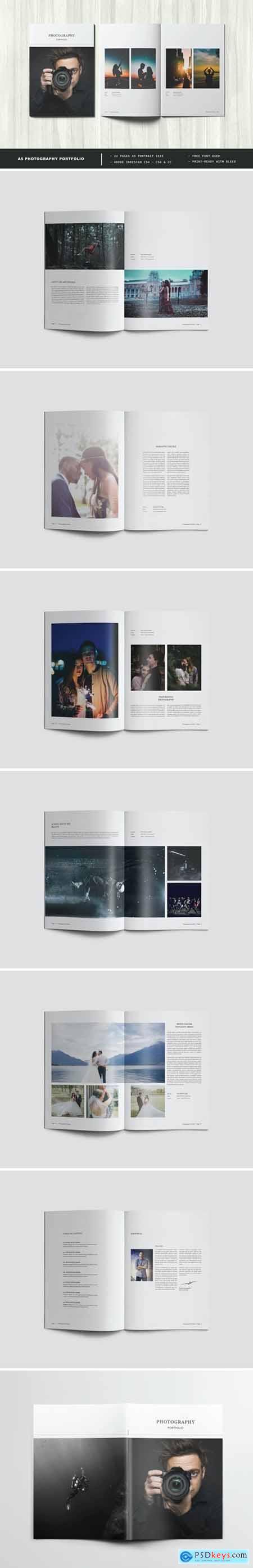 A5 Photography Portfolio - Photo Album