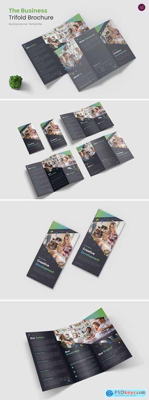 Bussines Development Trifold Brochure