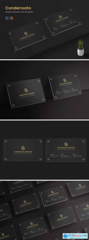 Condensato Luxiris Bussines Card