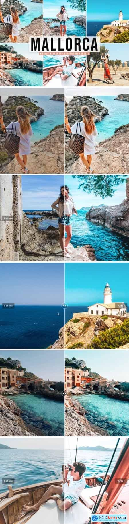 Mallorca Pro Lightroom Presets 7880477