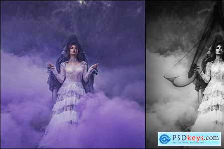 35 Black Magic Photo Overlays 3499406