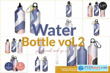 Aluminium Water Bottle II Mock-ups 5502409