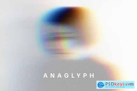 Anaglyph VHS Photo Effect 5783508