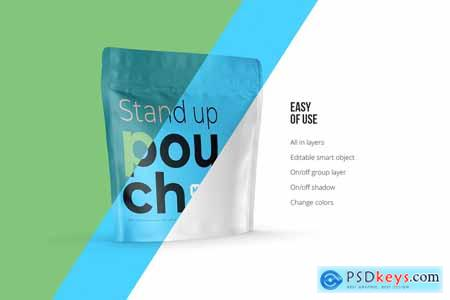 Stand-up Pouch Mockup (square) 5078775