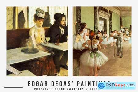 Edgar Degas Art Procreate Brushes 5474758