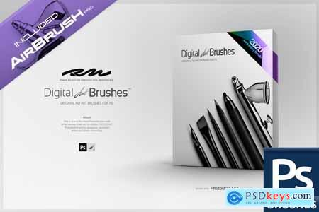 RM Digital Art Brushes EE for PS 5567663