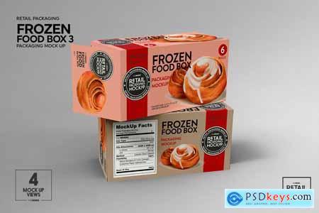 Retail Frozen Food Packaging3 Mockup 5779981