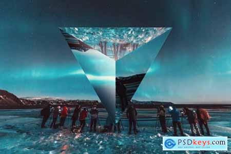 Prism Lens Distortion Photo Effect 5780459