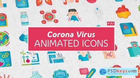 Corona Virus Icons 26019243
