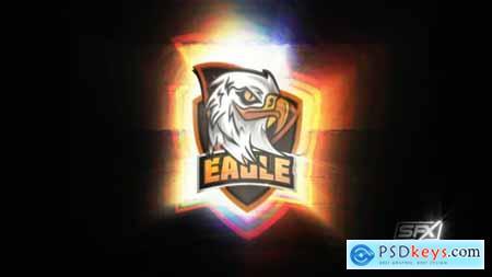 Glitch Gaming Logo Reveal 28620958
