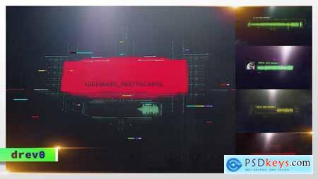 Digital Audio Waveform- HUD Screens- UI Display- Sci-Fi Interface- Hi-Tech Titles- Music Visualizer 30138008