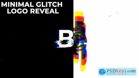 Minimal Glitch Logo Reveal 30107368