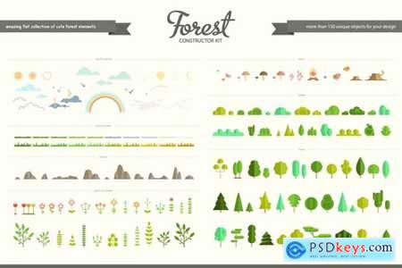 Flat Forest Creator Set