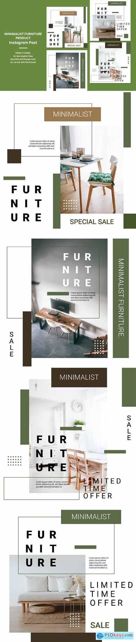Minimalist Furniture Product