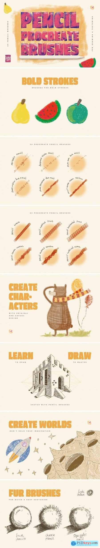 Procreate Pencil Brushes