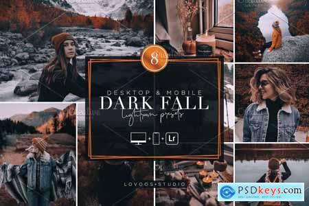 DARK FALL - Lightroom Presets 5782057
