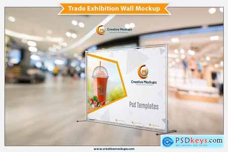 Trade Exhibition Wall Mockup 5670388