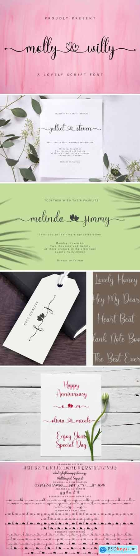 Molly Willy Font