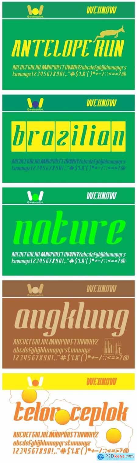 Antelope Run Font