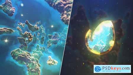 Space Nebula Logo 27987918