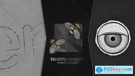 Grunge Eye Open Logo 25996819