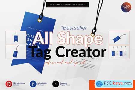 All Shape Tag Creator Mock-up 5623559