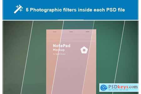 NotePad Mockup 5787245