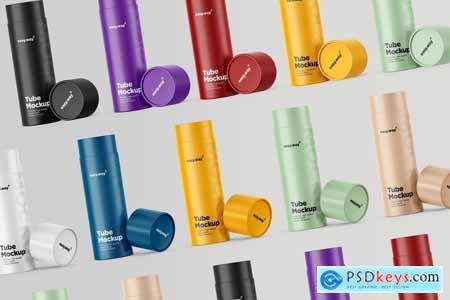 Tubes PSD Mockups Pack 5715926