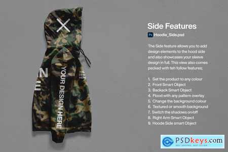Custom Hoodie Mockup Bundle 5715033