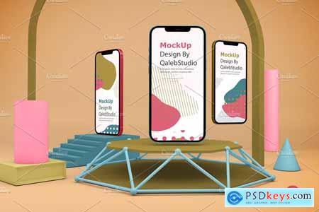 iPhone 12 Pro Max V.1 Mockup 5787261