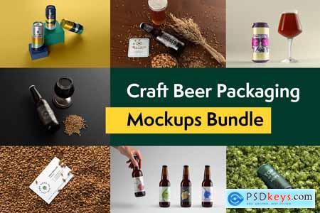 Craft Beer Packaging Mockups 5744421