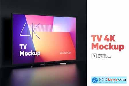TV 4K Mockup