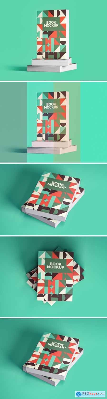 Book Mockups Pack