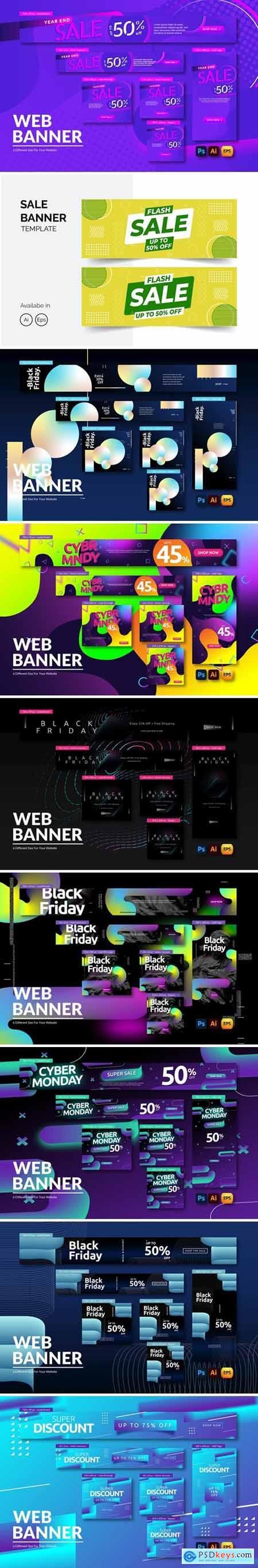 Black Friday Banner Bundle