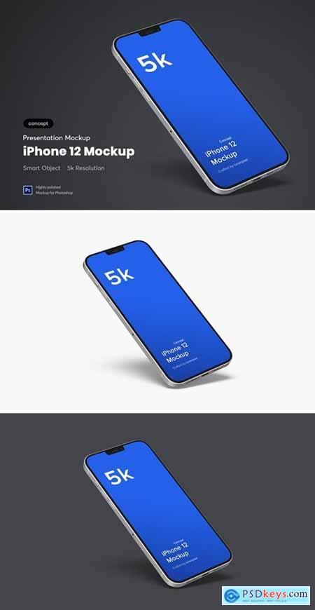 iPhone 12 Mockup (Concept)