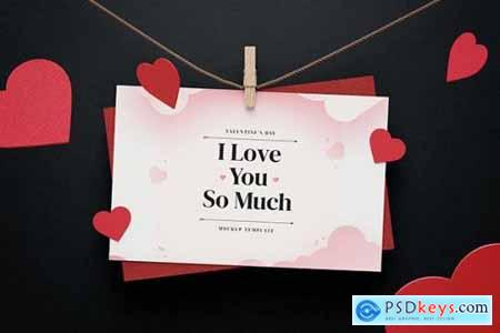 Creative Valentines Day Mockup Template