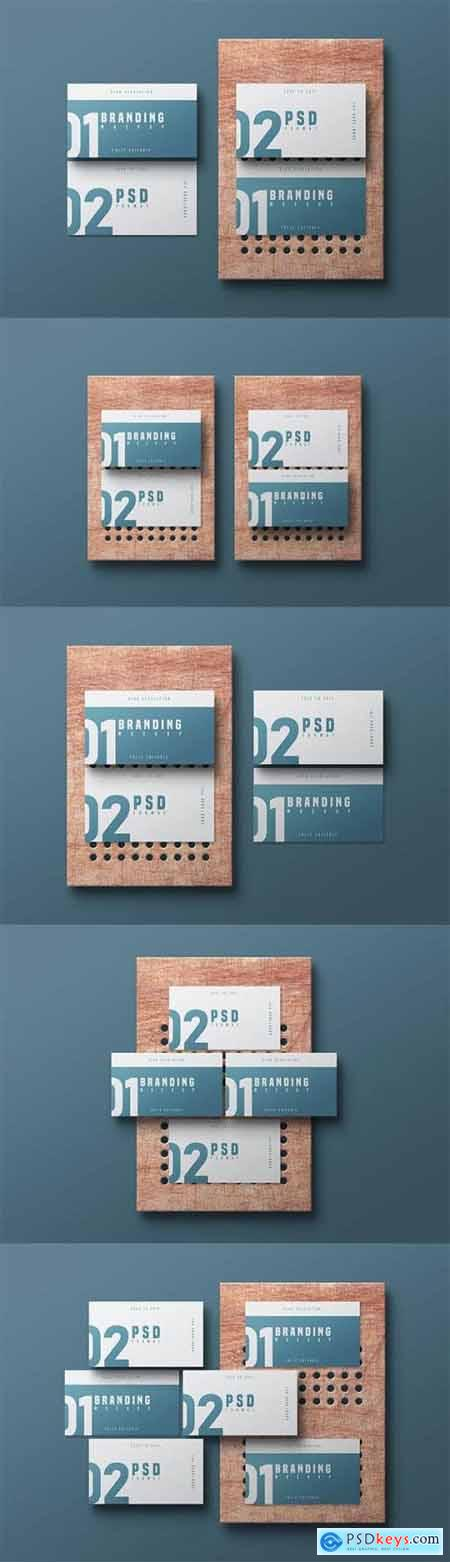 Business Card Mockup - Vol 05