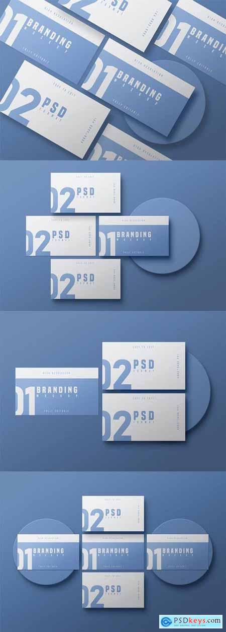 Business Card Mockup - Vol 04