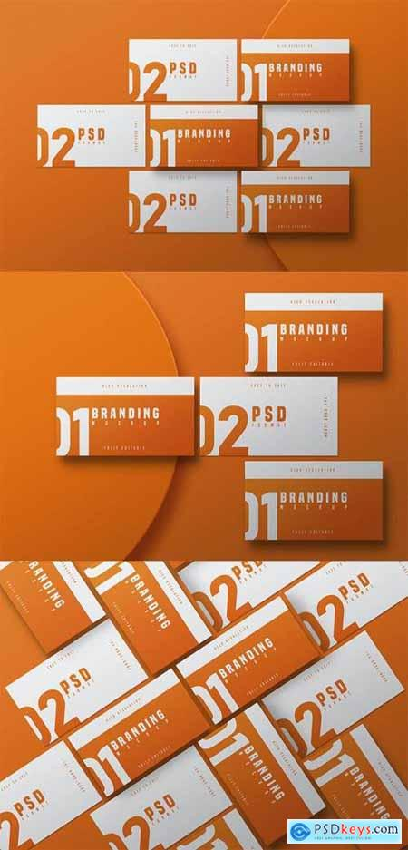 Business Card Mockup - Vol 03