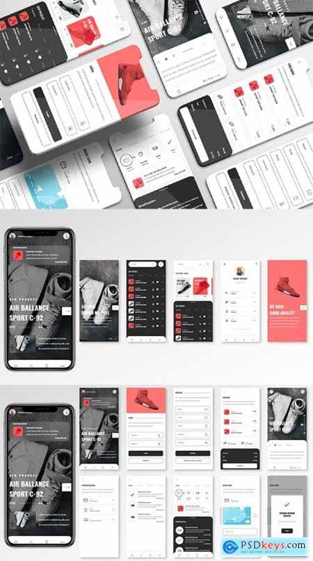 Obuv UI Kit - Shoes Store Apps