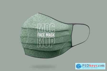 Face Mask Mockup - Vol 02